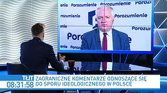 Wybory 2020. Jarosław Gowin: nie trzeba nas uczyć tolerancji
