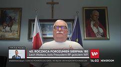 """Spór o tablice z Sierpnia 1980. Lech Wałęsa do szefa """"Solidarności"""": chłopcze, będziesz w zębach przynosił"""