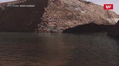 Ulewne deszcze na starożytnym Marsie. Były tak duże, że dzięki nim powstawały jeziora