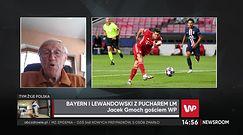 """Liga Mistrzów. Jacek Gmoch pod wrażeniem Roberta Lewandowskiego. """"Przeszedł do historii"""""""