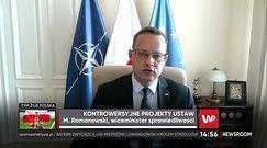 Projekt penalizacji edukacji seksualnej. Wiceminister sprawiedliwości Marcin Romanowski komentuje