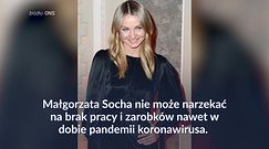 Małgorzata Socha zarobiła krocie na reklamie. Pomogła też mamie