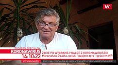 """Mieczysław Opałka, polski """"pacjent zero"""" gościem WP"""