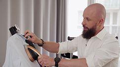 Męski atest – test urządzenia do prasowania