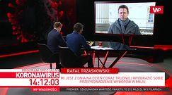 Koronawirus w Polsce. Rafał Trzaskowski wyjaśnia decyzję ws. utrzymania opłat za parkowanie