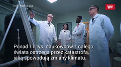 """Apel 11 tys. naukowców. """"Mamy moralny obowiązek"""""""