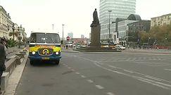 'Gronkobus' na ulicach Warszawy
