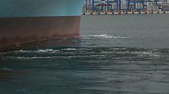 Wizyta na pokładzie statku Maersk Triple-E