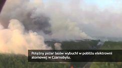 Pożar wokół elektrowni w Czarnobylu