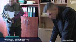 #dziejesiewpolsce: wyłudzili 24 mln zł