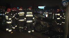 Wypadek z udziałem autobusu w Częstochowie