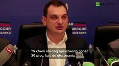 Zacharczenko wygrywa w Donbasie