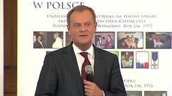 Donald Tusk o rozmowie z papieżem