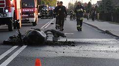 Śmiertelny wypadek motocyklisty w Grodźcu
