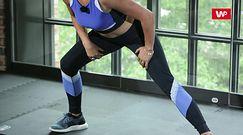 Ćwiczenie na mięśnie ud. Bez skrepowania odsłonisz nogi