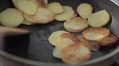 Smażone ziemniaki z cukinią i kurczakiem. Szybko i smacznie
