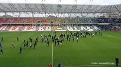 #dziejesiewsporcie: kibole na boisku w Bielsku. Interweniowała policja