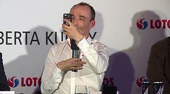 """""""Kubica show"""" podczas konferencji prasowej"""