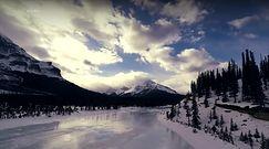 Łatwopalne jezioro w Kanadzie
