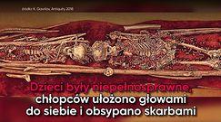 Dziecięce groby sprzed 34 tys. lat. Szczątki obsypano skarbami