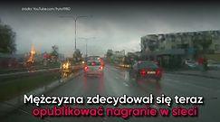Jazda pod prąd na krajowej szóstce w Wejherowie. Cztery auta uszkodzone