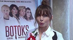 """Agnieszka Dygant o kontrowersjach w serialu """"Botoks"""":""""Od tego jest Patryk Vega"""""""