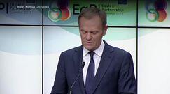 Tusk na szczycie Partnerstwa Wschodniego: UE nigdy nie uzna nielegalnej aneksji Krymu