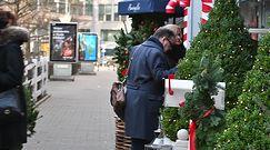Zdenerwowani Zamachowscy na świątecznym jarmarku z dziećmi