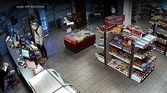 34-latek napadł na stację paliw. Pracownik go zignorował