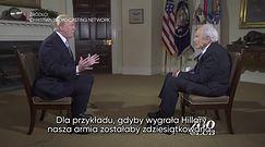 Donald Trump: Putin wolałby Hillary Clinton jako prezydenta