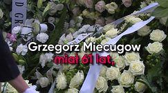 Pogrzeb Grzegorza Miecugowa. Dziennikarz spoczął na Powązkach