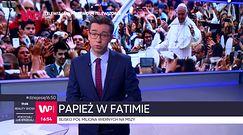Papież Franciszek w Fatimie