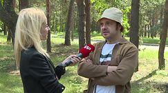''Najlepszy'' - wywiad z Arkadiuszem Jakubikiem na planie filmu