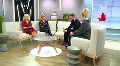 Sandra Hajduk i Łukasz Zając o pokazie mody Mariusza Przybylskiego