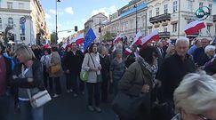 Tak wyglądał wczorajszy marsz KOD-u w Warszawie