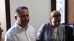 """Kamil Durczok do paparazzi w sądzie: """"Co wy tu robicie?"""""""