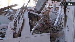 Donieck pod ostrzałem. Zniszczonych jest aż 15 budynkków