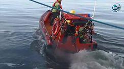 Kitesurfer żyje, zniosło go do Gdyni. Wypatrzyli go marynarze