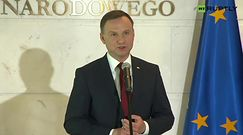 Posiedzenie RBN. Prezydent Duda po spotkaniu: scena polityczna zgodna ws. wzmocnienia wschodniej flanki NATO
