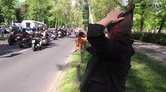 """Motocykliści z klubu """"Nocne Wilki"""" świętowali zwycięstwo w Berlinie"""