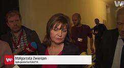 Awantura w Sejmie. Małgorzata Zwiercan zagłosowała za Kornela Morawieckiego