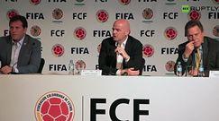Gianni Infantino: FIFA nie ma zbawiać świata, tylko zająć się organizacją futbolu