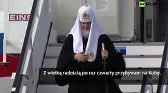 Historyczne spotkanie papieża Franciszka z patriarchą Cyrylem