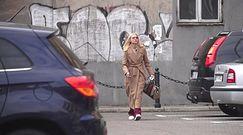 Elegancka Horodyńska po wizycie u fryzjera