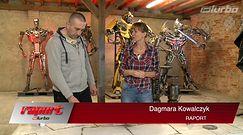 Polski twórca transformersów. Wyjątkowe dzieła ze złomu