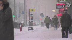Atak zimy w Szczecinie. Na drogach bardzo ślisko