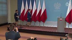 Zagraniczne media odnotowały brak flagi UE na konferencji Beaty Szydło