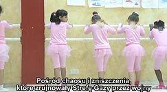 Zajęcia baletu w Strefie Gazy