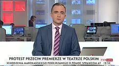 """Protest we Wrocławiu: """"To jest szambo, a nie teatr"""". Policja zatrzymała kilka osób"""