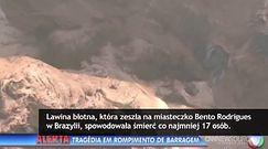Lawina błotna zabiła co najmniej 17 osób w Brazylii